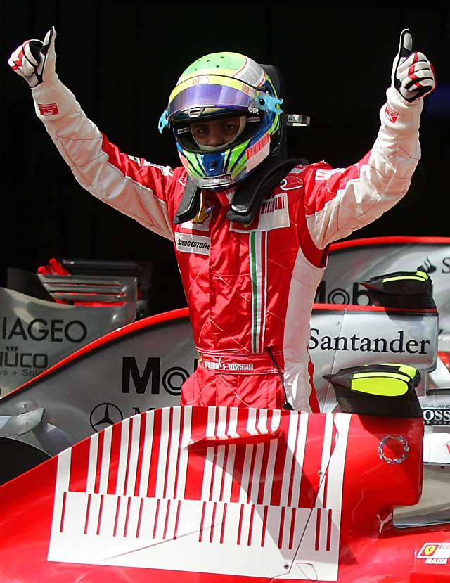 """Massa logra la """"pole"""" en Estambul y Alonso saldrá séptimo"""