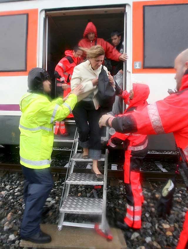 El temporal obliga a los bomberos a efectuar 142 salidas en toda Cataluña