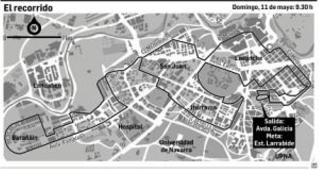 Pamplona sufrirá cortes de tráfico por la mañana