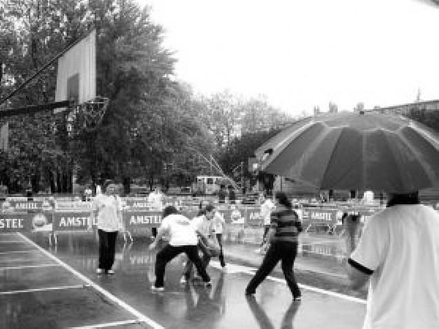 La lluvia ahogó el deporte