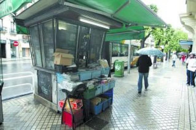 Un futuro para los quioscos de Pamplona
