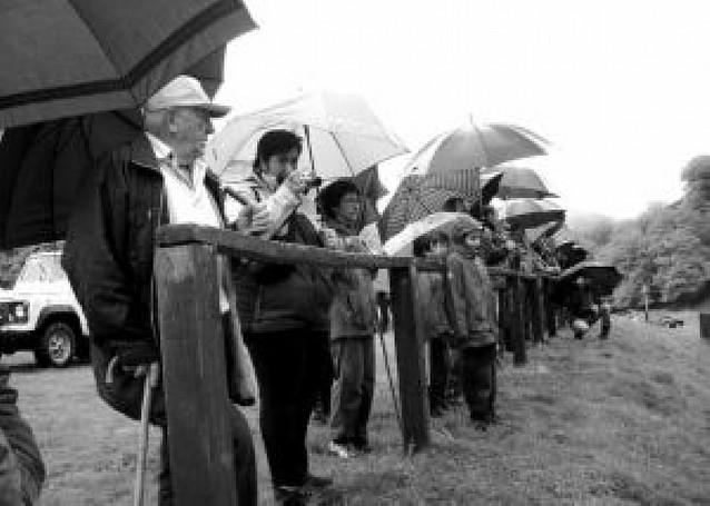 Marca lluviosa en Sorogain