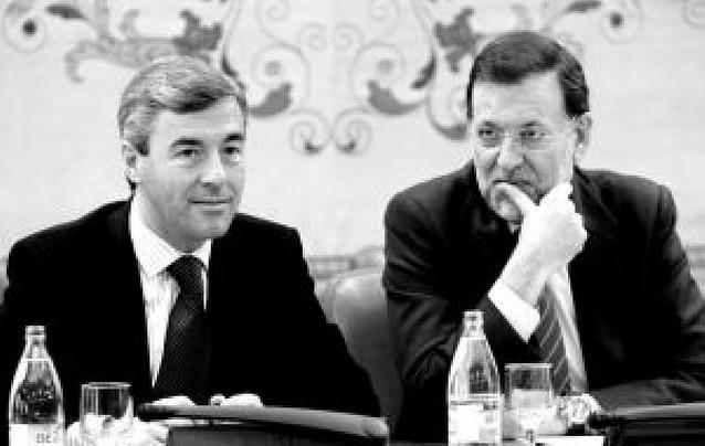 """Mariano Rajoy: """"A Ibarretxe hay que recordarle que cumpla la ley"""""""