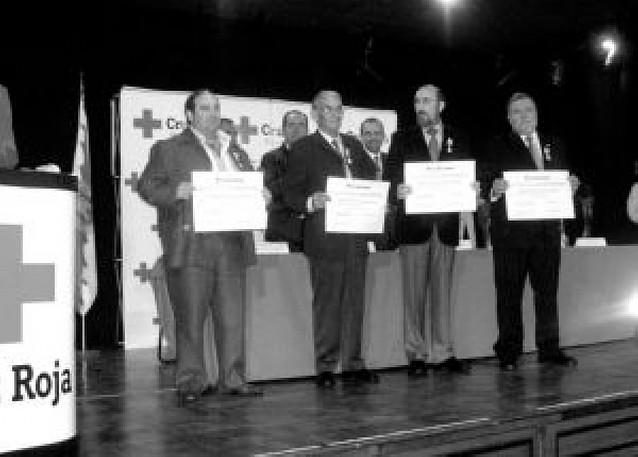 Cruz Roja entrega en Tafalla 34 galardones a colaboradores y voluntarios