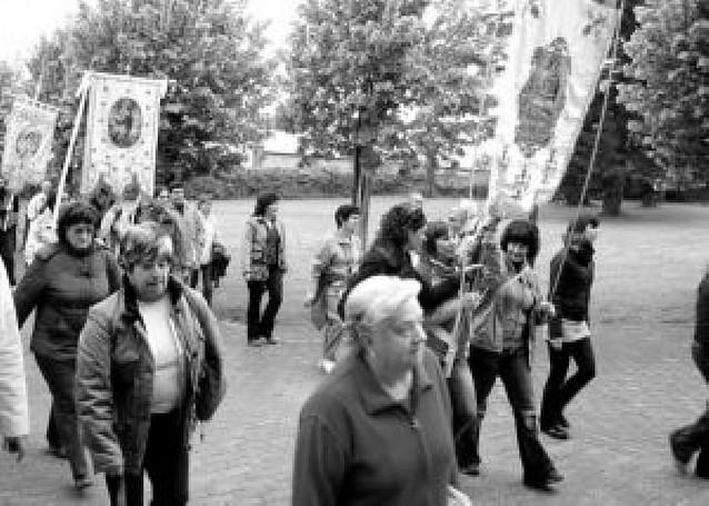 Cuatrocientos vecinos del valle de Arce y Oroz-Betelu marcharon a Roncesvalles