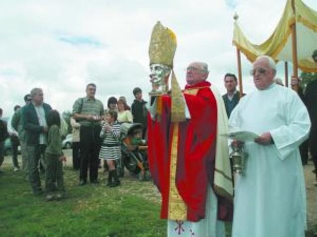 La basílica de San Gregorio reunió a los valles de la zona