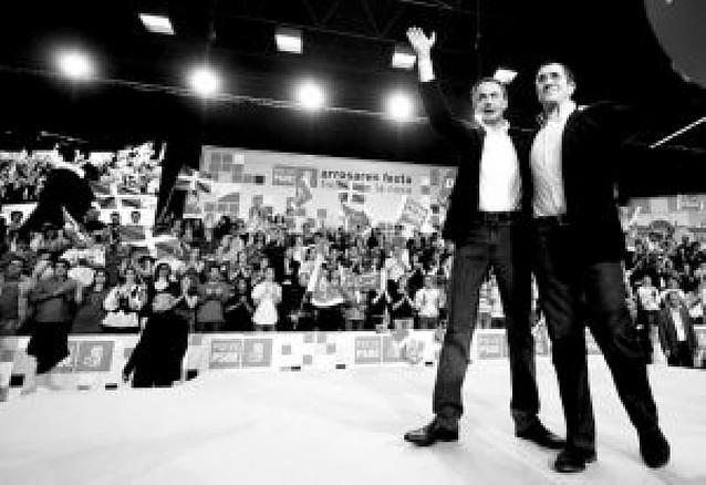 Zapatero le adelanta a Ibarretxe que no tocará las reglas de juego