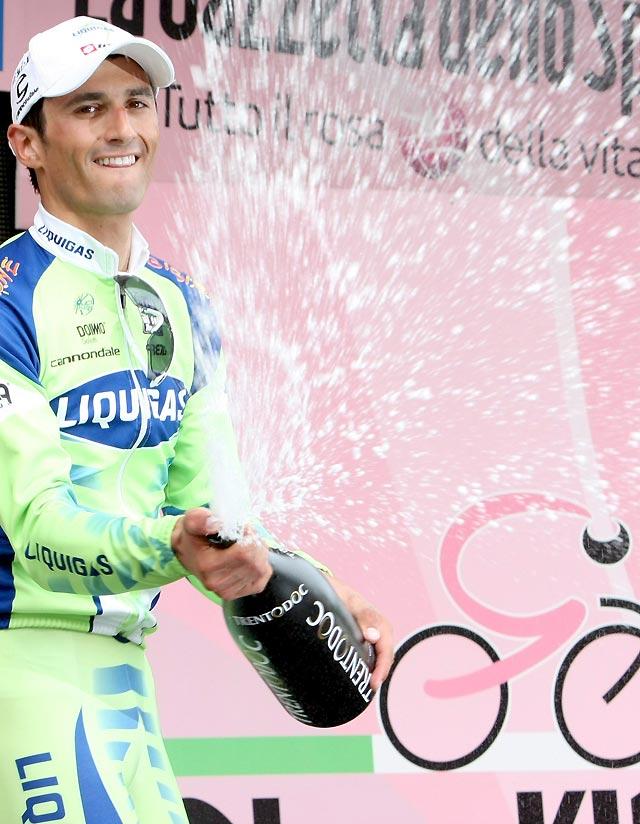 Bennati ganó el pulso al esprint en la tercera etapa del Giro