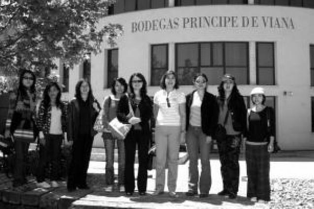 Periodistas chinas visitan empresas de la Ribera
