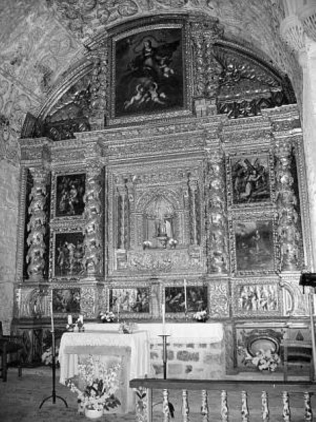 Garde inaugura el retablo restaurado de la ermita de Zuberoa