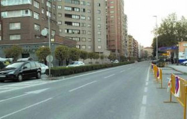 El colector que obliga a cortar desde hoy la avenida Zaragoza dará servicio a 3.000 vecinos