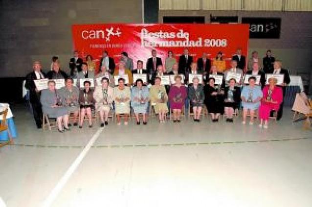 La CAN homenajea a 23 matrimonios en Falces