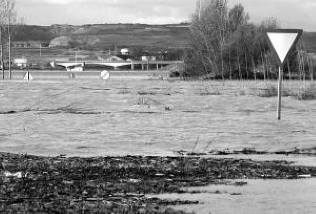 El Gobierno descarta elevar la N-113 en Castejón para evitar inundaciones