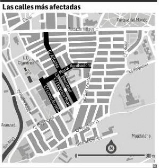 Pamplona destina 60.500 euros para acabar con las plagas de termitas en la Chantrea