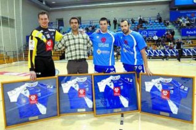 Despedida para Ortigosa, Carvajal, Andorinho y Valter Matosevic
