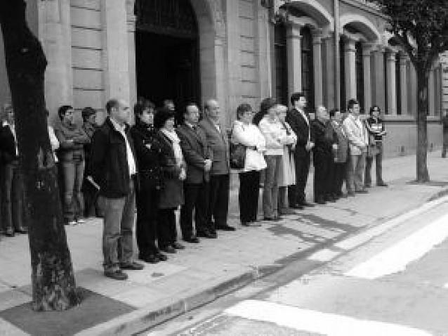Estella y su comarca se movilizan contra ETA