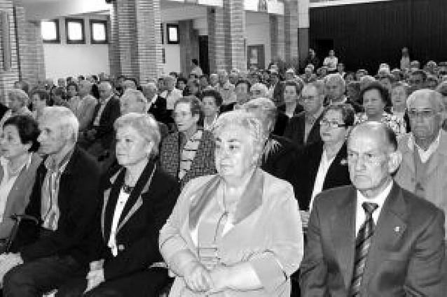 La federación de jubilados Blanca de Navarra reúne a 480 personas