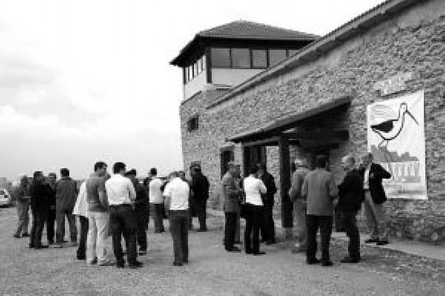 Gurelur abre en Arguedas un centro ambiental para estudiar, difundir y conservar los arrozales