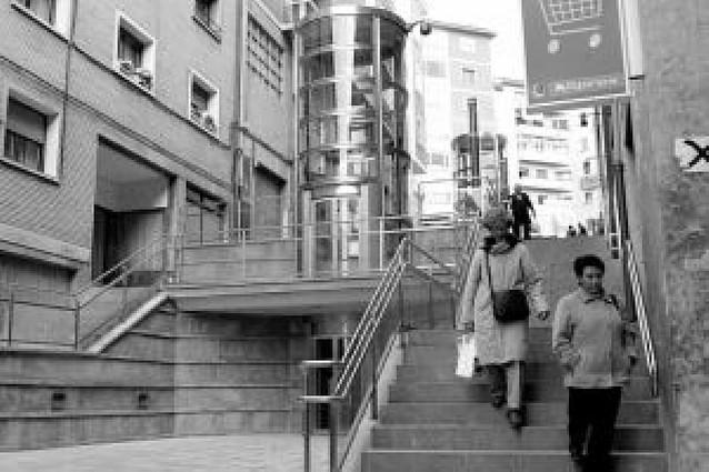 San Juan tendrá en 2009 el cuarto ascensor urbano de Pamplona