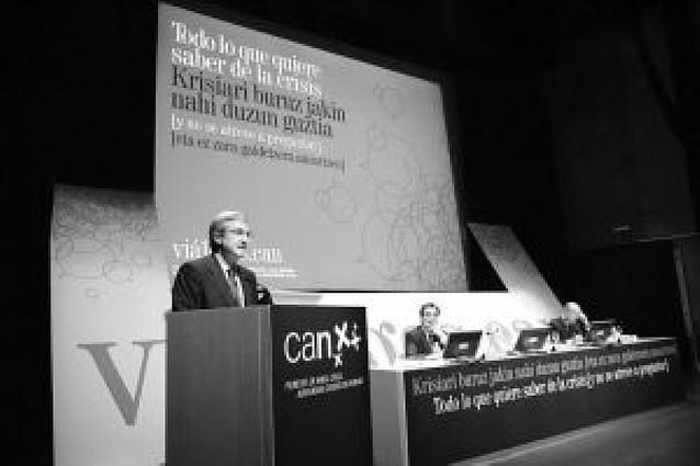 Caja Navarra financiará mil millones de E para empresas del País Vasco en 2008