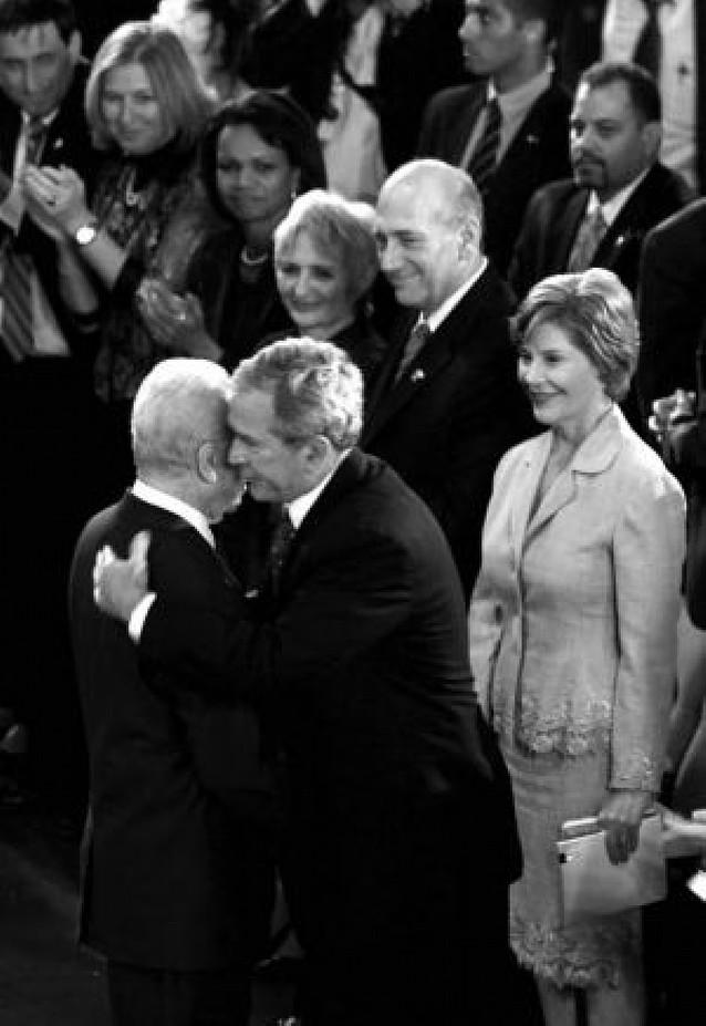 Bush participó ayer en los festejos del 60 aniversario del Estado de Israel