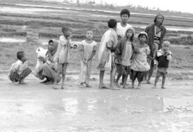 Una gran tormenta se dirige a las zonas inundadas de Birmania