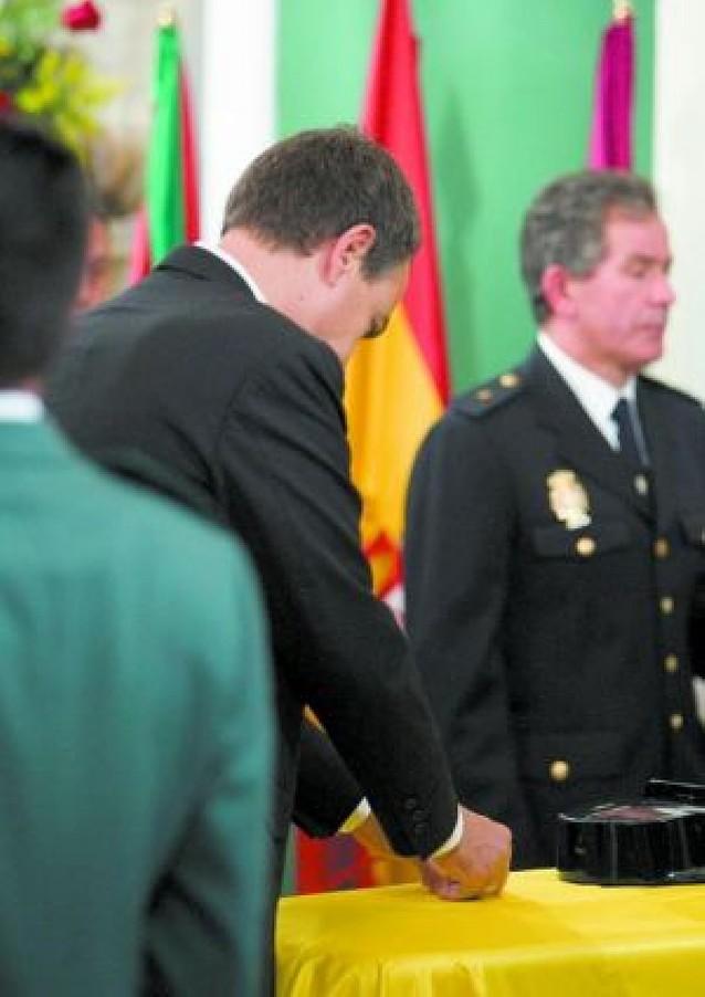 Cruz de Oro de la Guardia Civil a título póstumo para Manuel Piñuel