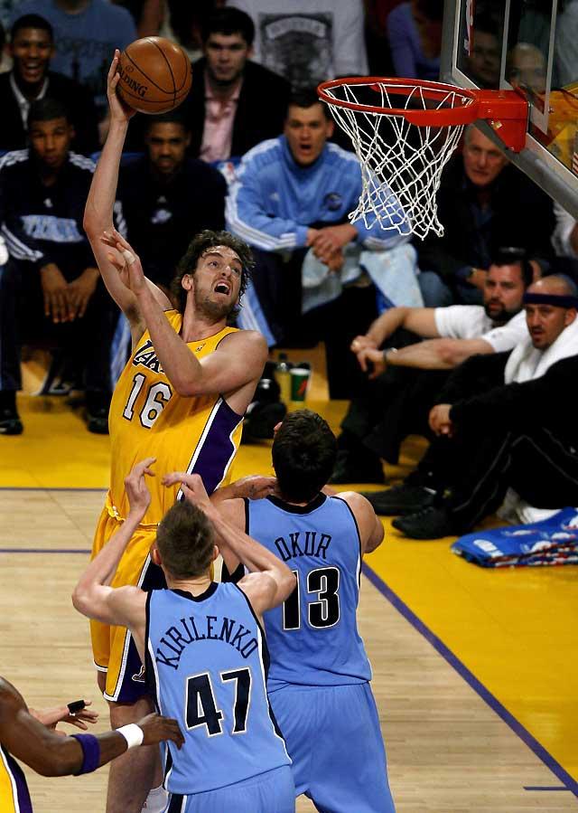 Los Lakers responden al órdago lanzado por Utah (111-104)