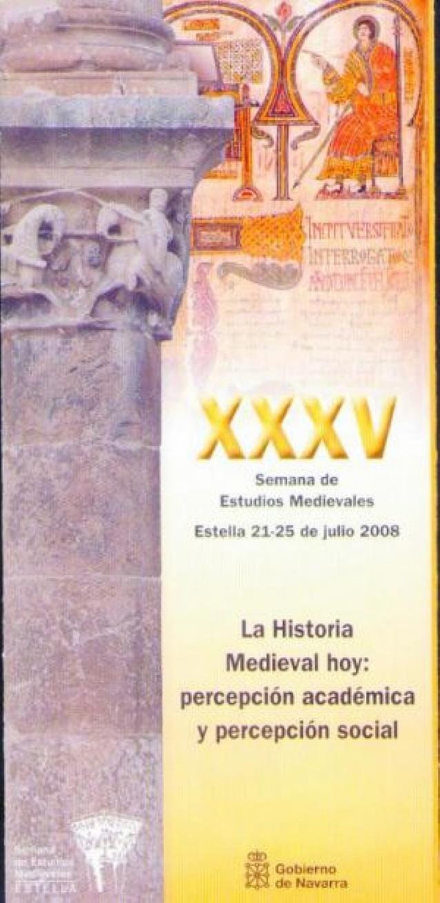 Estella acogerá la trigésimo quinta semana de estudios medievales del 21 al 25 de julio