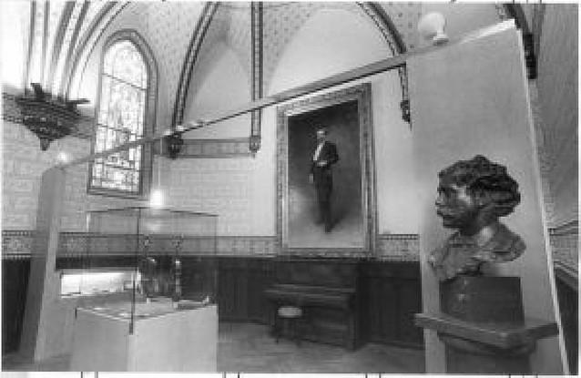 El Condestable albergará en una de sus salas el museo de Sarasate