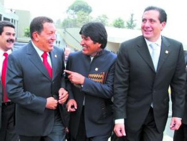 Chávez pidió disculpas a la canciller alemana Ángela Merkel