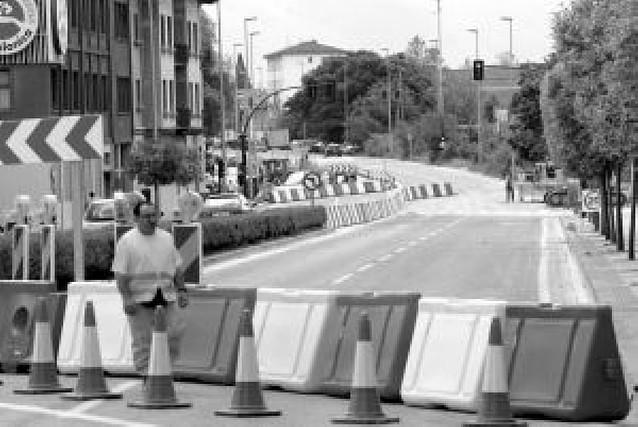 El miércoles se cierra por completo la avenida de Zaragoza