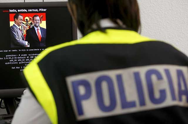 La Policía Nacional detiene a cinco de los 'hackers' más activos de la red