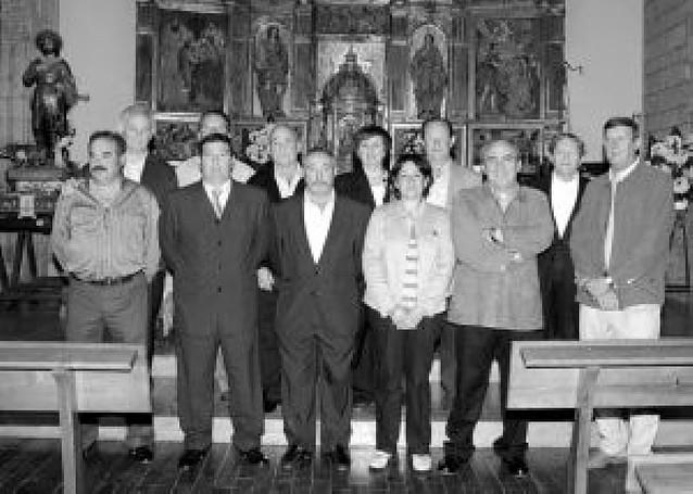 La cooperativa de Santacara homenajeó a los nueve presidentes que ha tenido