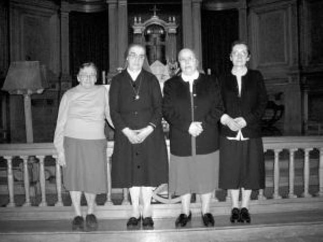 Cinco órdenes religiosas han cesado su actividad en la comarca desde 2003