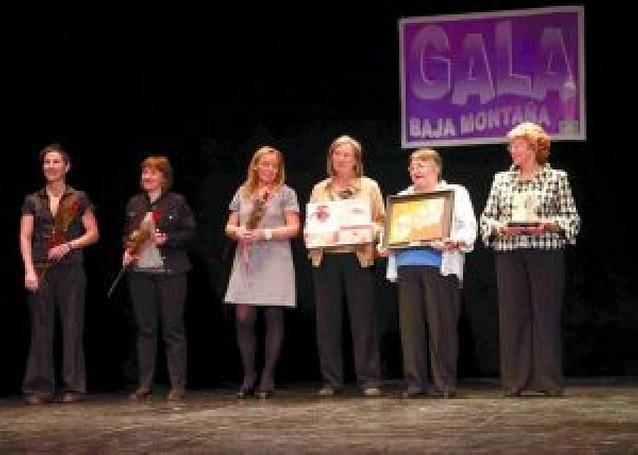 La Baja Montaña reconoce la labor de tres mujeres de la zona en su gala anual