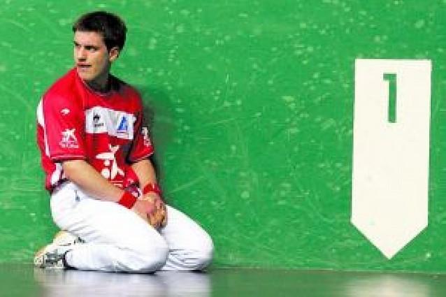 Larralde no encontró oposición en Urrizelki y jugará la final de 2ª