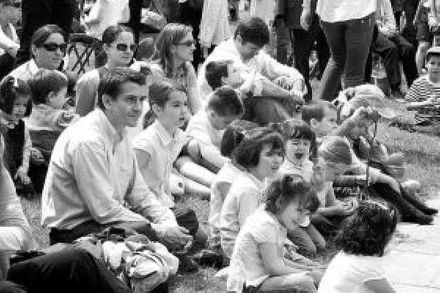 """Las familias """"toman"""" la Ciudadela"""