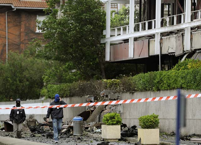Los partidos navarros con representación parlamentaria, unánimes en la condena del atentado