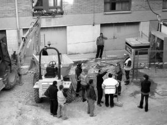 Desalojados 30 vecinos de Tafalla por un escape de gas