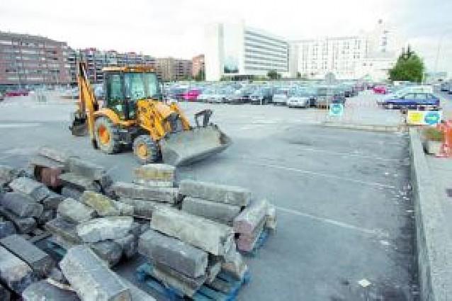 Comienza la construcción del nuevo parking de Hospitales