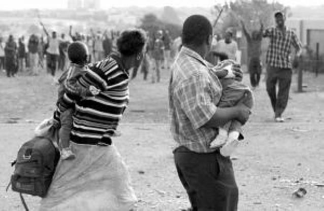 Veinticinco muertos por violencia xenófoba en Sudáfrica