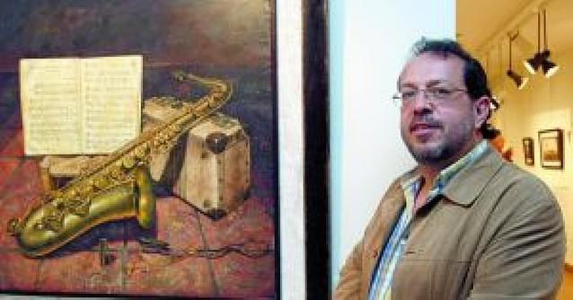 El paisaje de interior de Ricardo Renedo, en la galería San Antón
