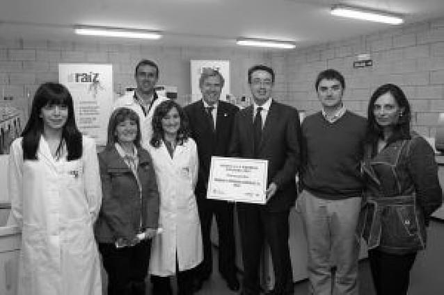 dRaíz, dedicada al diagnóstico de la uva, premiada por su innovación