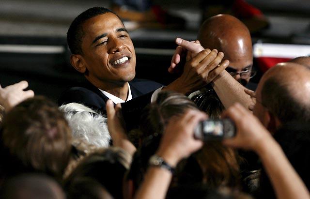 Obama se impone en Oregón y se aproxima a la nominación del partido demócrata