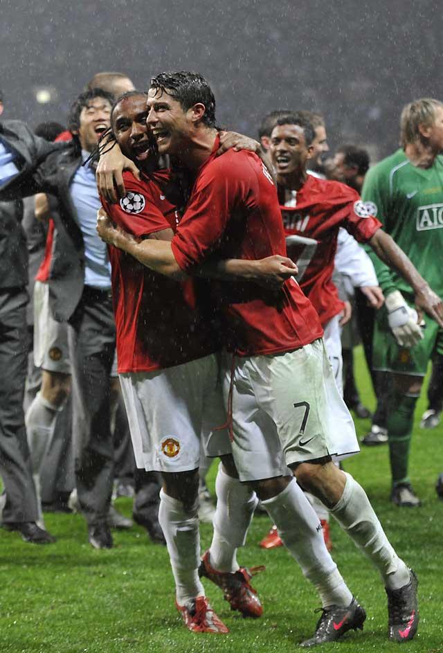 El Manchester United, campeón de la Champions