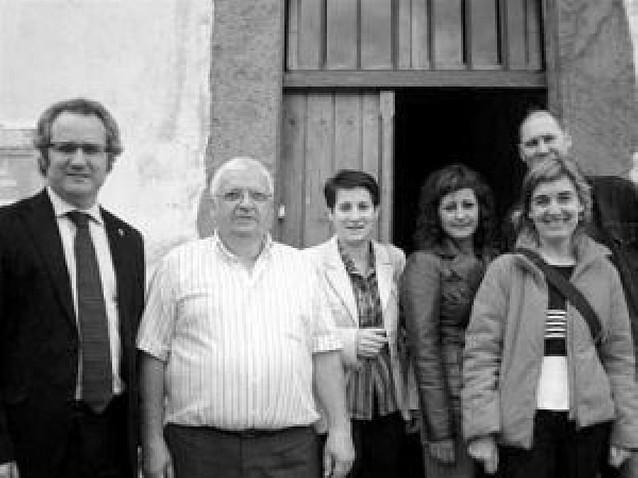 Los consejeros Pérez-Nievas y Sanzberro visitaron el Colegio Público San Juan