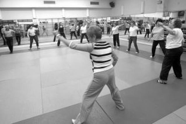 Diez gimnasios de Pamplona acogen los cursos para mayores de 65 años