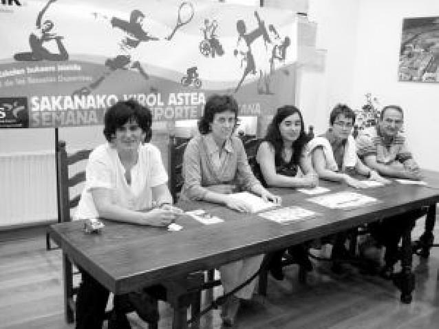 Unos 400 niños de Sakana en la XVI Semana del Deporte