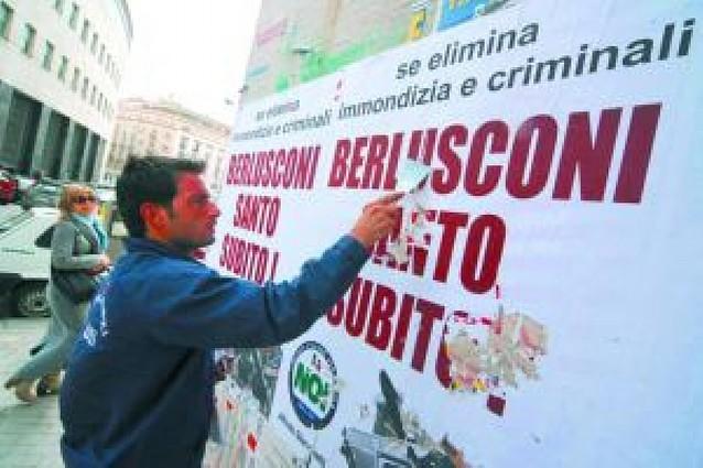 Los basureros de Campania, zonas estratégicas militares
